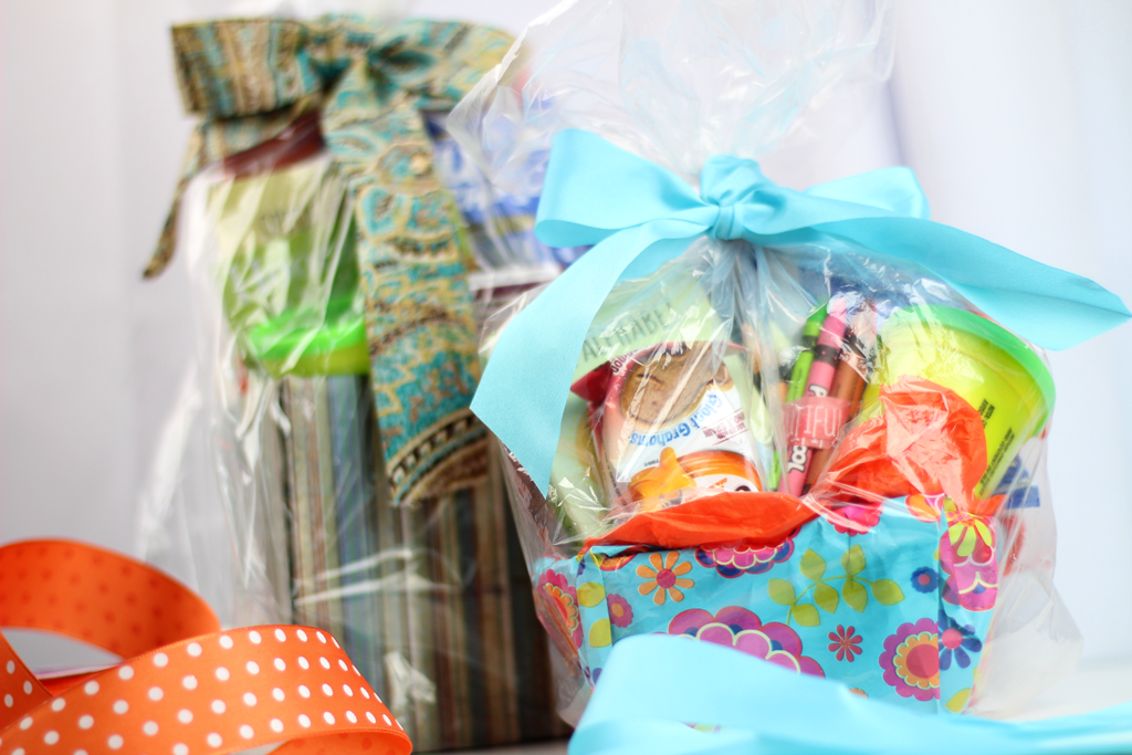 How to Turn a Small Cardboard Box into a Gift Basket