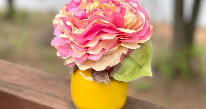 How to Make a Vase from an Apple Juice Bottle